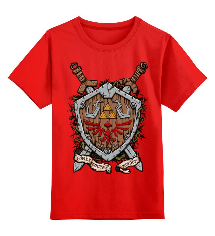Детская футболка Printio Легенда о зельде цв.красный р.140 0000000962663 по цене 990