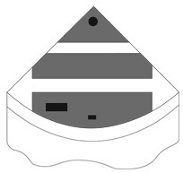 Комплект пластиковых крышек для Juwel Trigon 350,