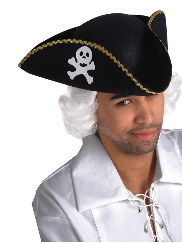 Треуголка Пират Цв: Черный Размер: 58 АРТЭ