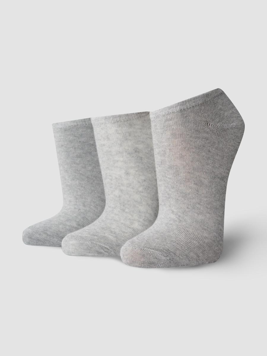 Набор носков 3 пары женских ТВОЕ A6470 серых 35-41