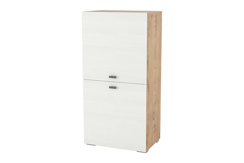 Шкаф комбинированный SILVA Snow Wood 80353625