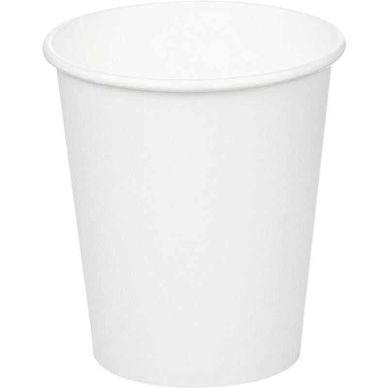 Стакан одноразовый Huhtamaki бумажный белый 200