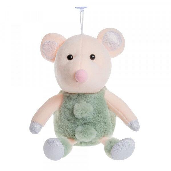 Купить DL-03701, Мягкая игрушка To-ma-to Мышка зеленая 20 см, Мягкие игрушки животные