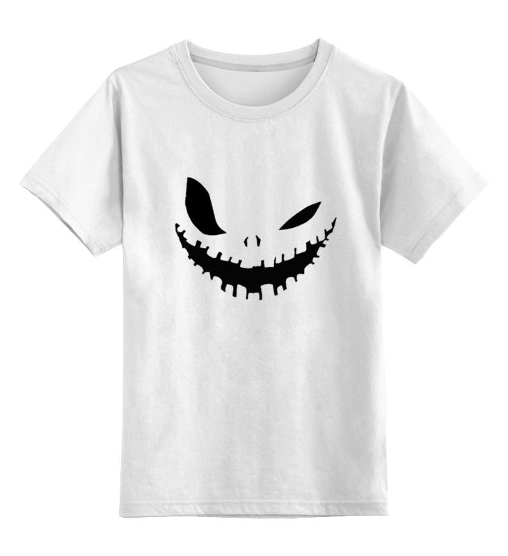 Детская футболка Printio Halloween цв.белый р.164 0000000795153 по цене 790
