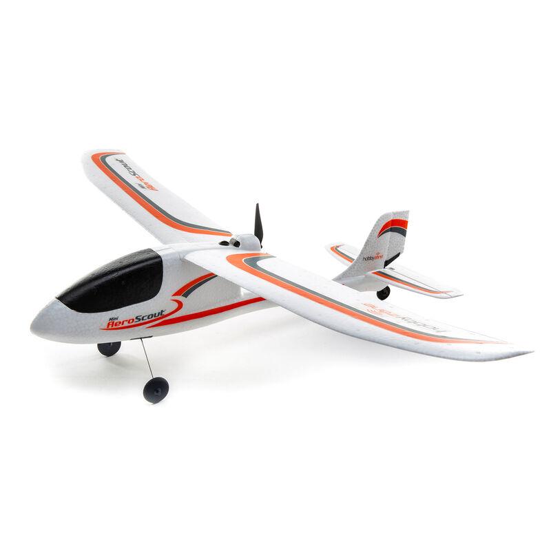 Радиоуправляемый самолет HobbyZone Mini AeroScout RTF