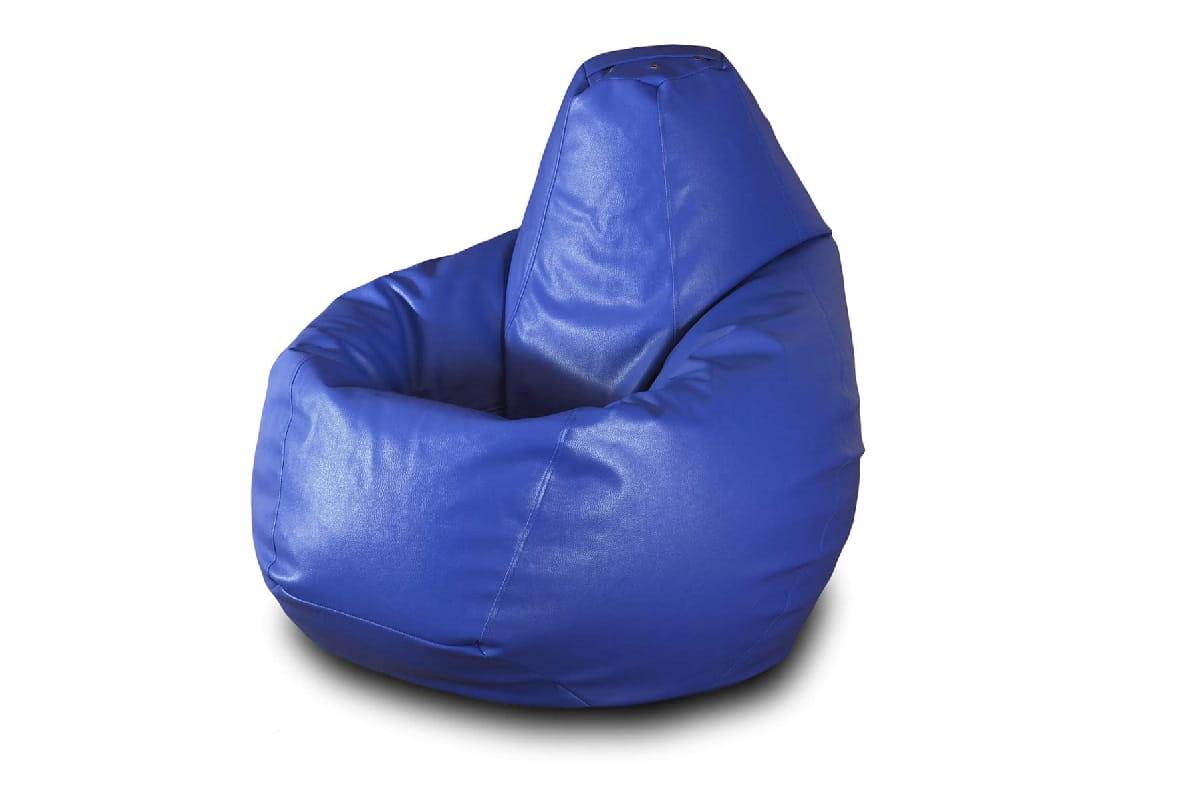 Кресло-мешок Pazitif Груша БМЭ3_синяя