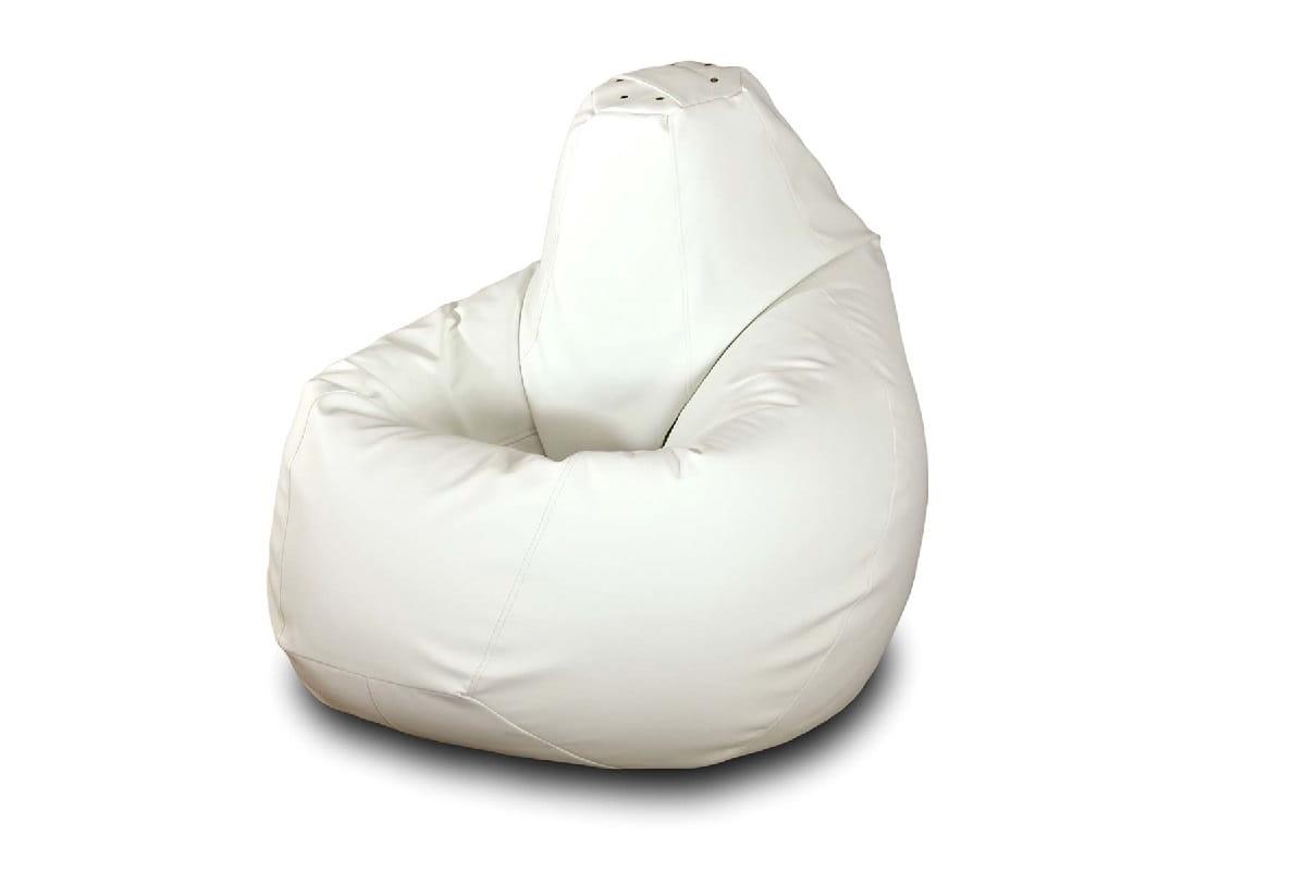 Кресло-мешок  PazitifГруша БМЭ3_белая