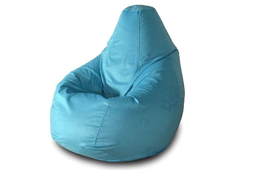 Кресло-мешок Pazitif Груша БМВ1_голубой