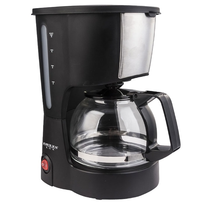 Кофеварка капельного типа DELTA LUX DL 8161
