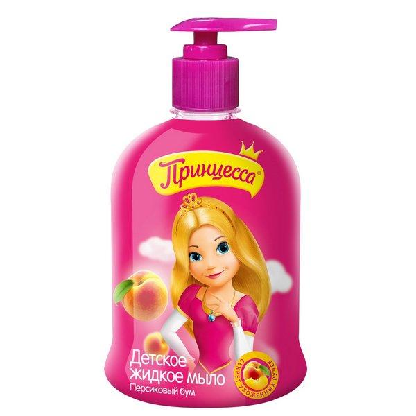 Жидкое мыло Принцесса Персиковый Бум 490 мл