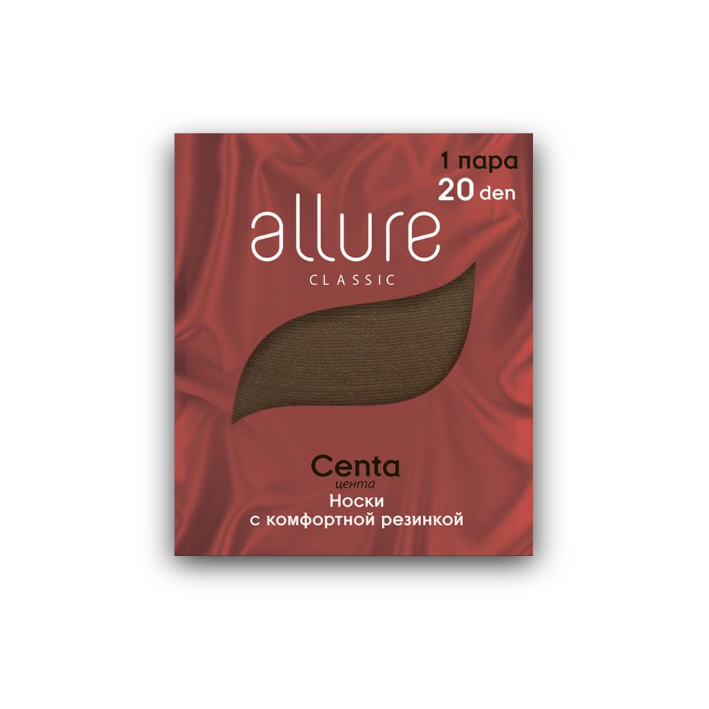 Капроновые носки женские ALLURE ALL CENTA 20 бежевые 23-25