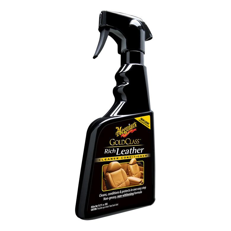 Очиститель и кондиционер для кожи Gold Class