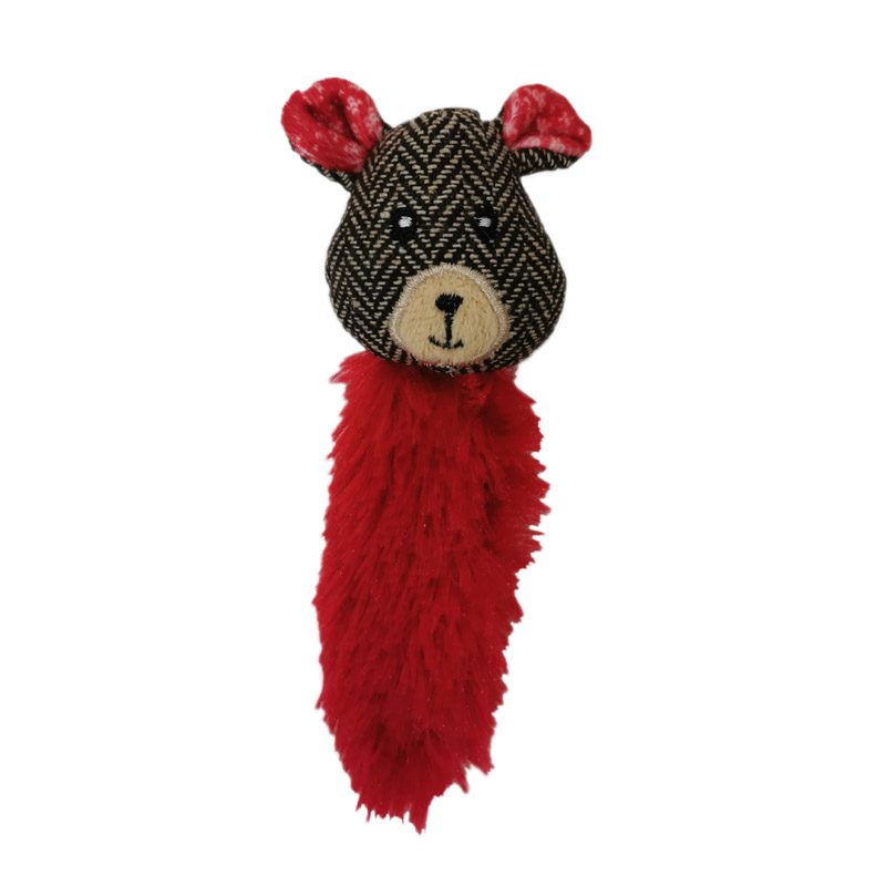 Игрушка для кошек CHOMPER Woodland Wonders Медведь пушистый