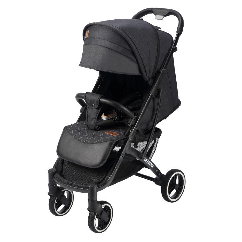 Прогулочная коляска Dearest Yoya Plus Pro Max 2020 Черная черная рама