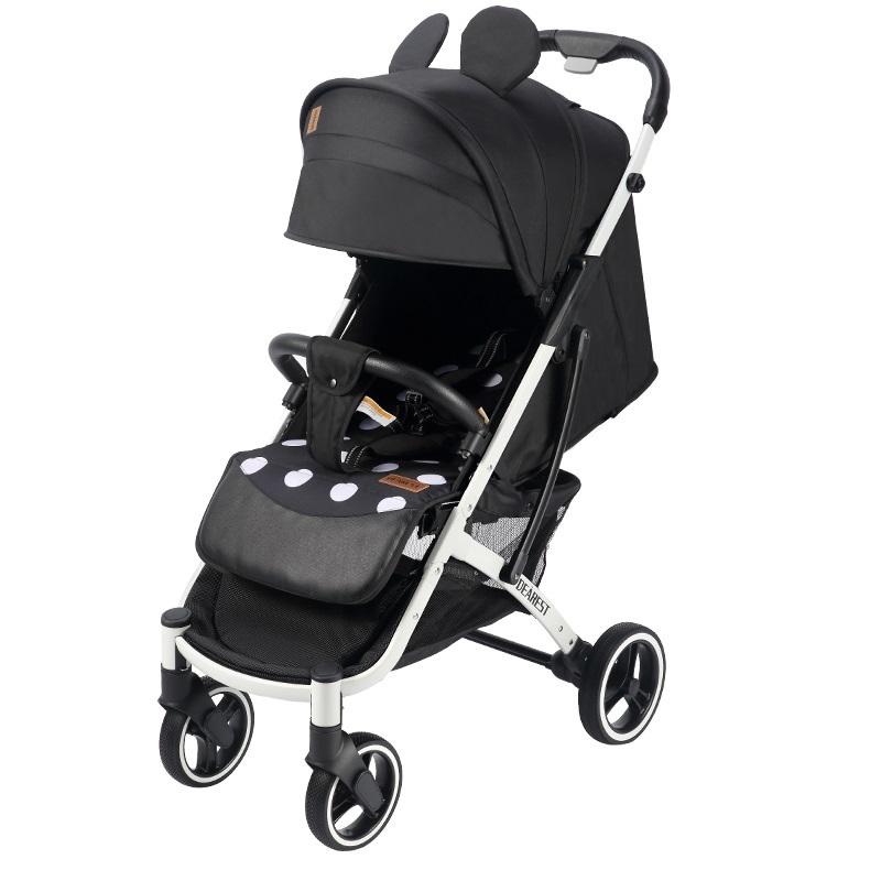 Прогулочная коляска Dearest Yoya Plus Pro Max 2020 Микки белая рама