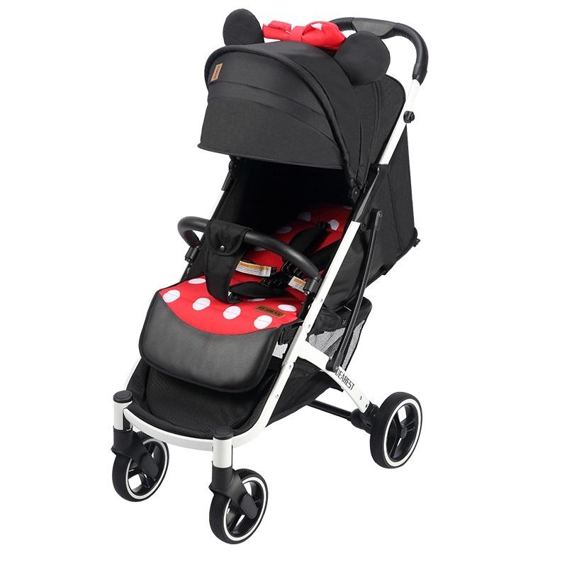 Прогулочная коляска Dearest Yoya Plus Pro Max 2020 Минни белая рама