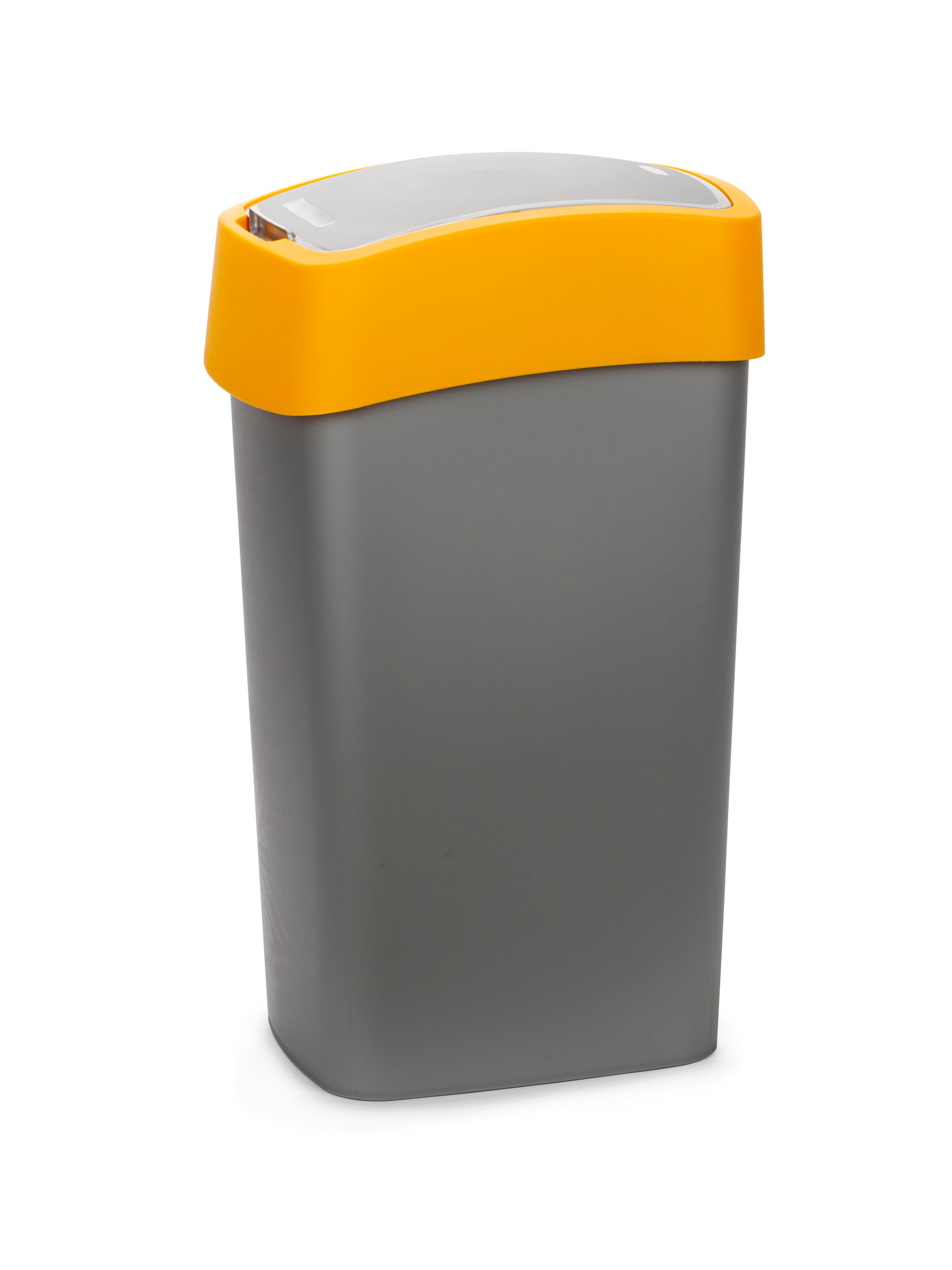 Контейнер для мусора FLIP BIN 50л оранжевый