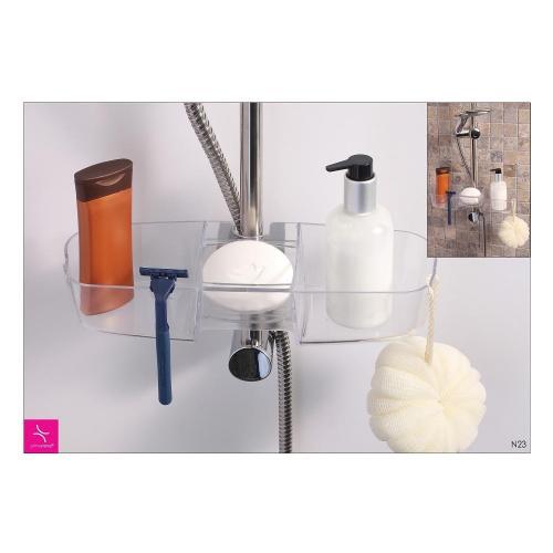 Полка для ванной PRIMANOVA, DRIPPY, 33х11х6,5 см