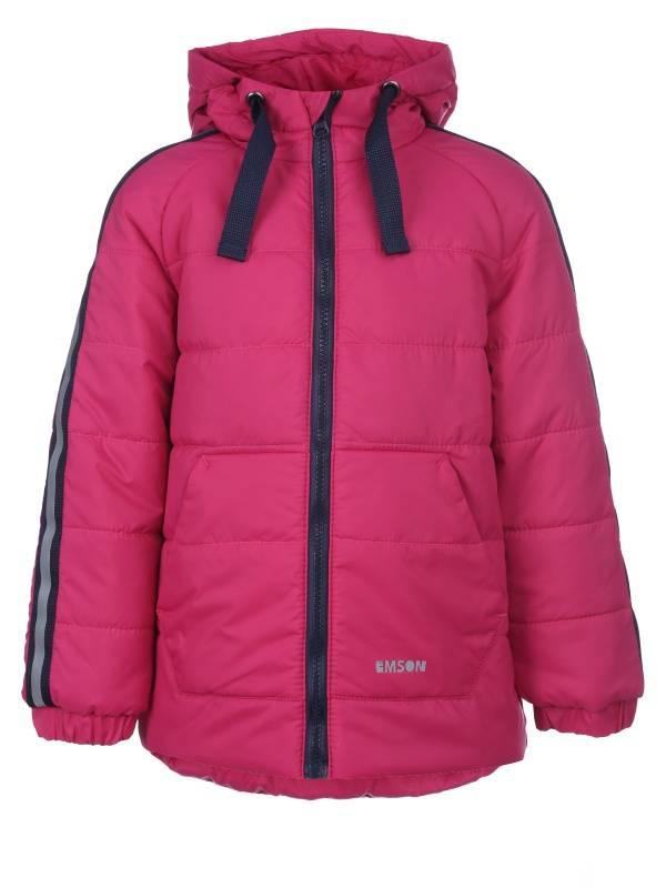 Купить 302155_малиновый, Куртка Чемпионат Emson 302155 цв.розовый р.104,