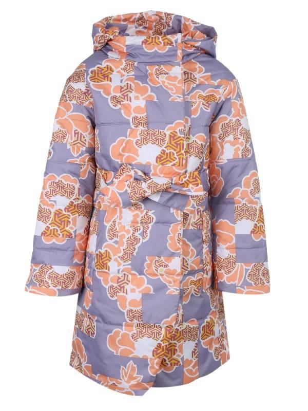 Купить 303106_сиреневый, Пальто Каори Emson 303106 цв.розовый р.152,