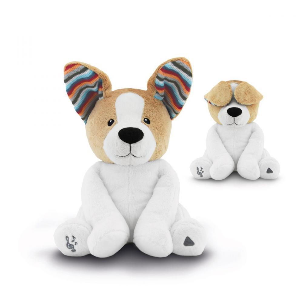 Музыкальная мягкая игрушка ZAZU Собака Дэнни