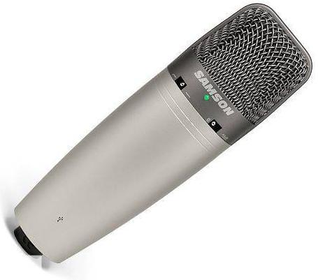 Микрофон Samson C03U Silver