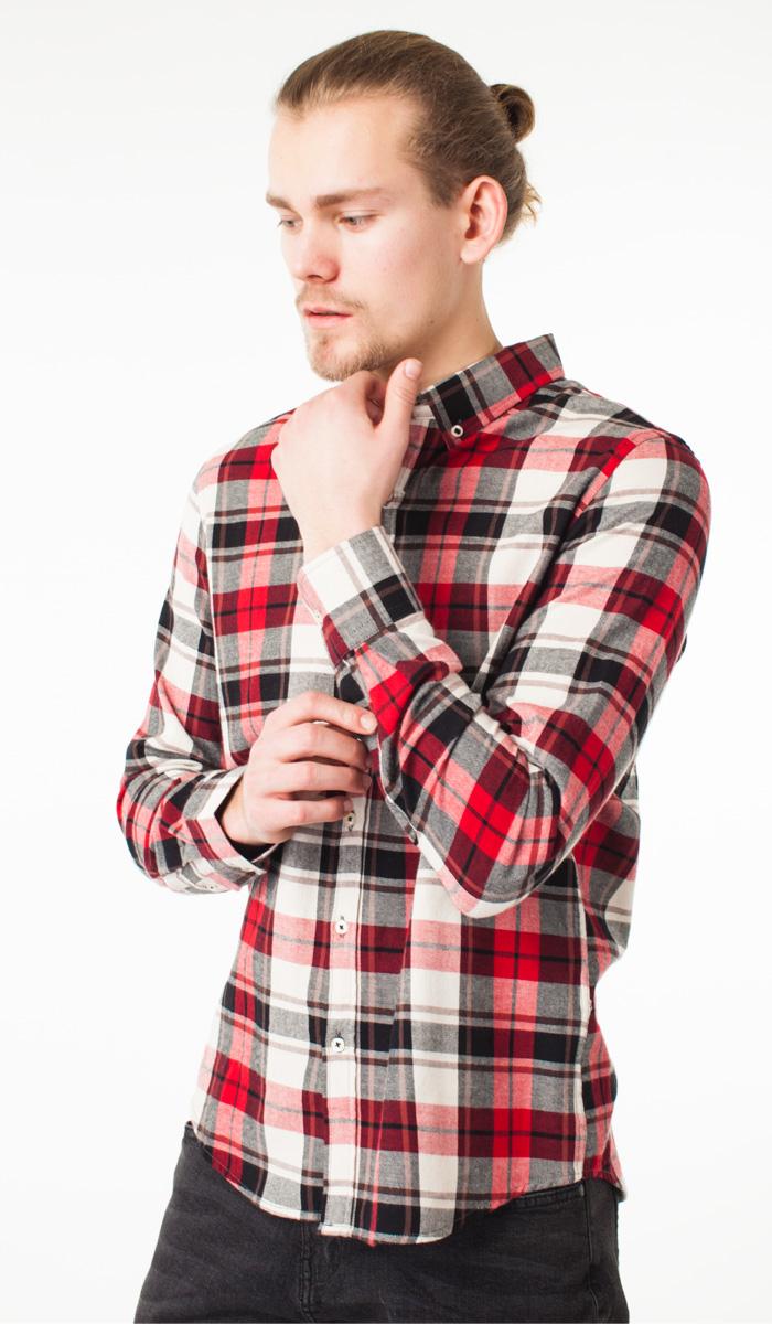 Рубашка мужская ТВОЕ A1641 красная L