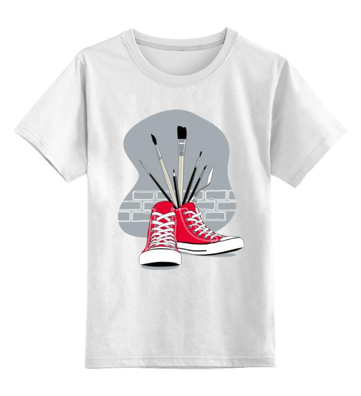 Детская футболка Printio Street art цв.белый р.104 0000000790856 по цене 790