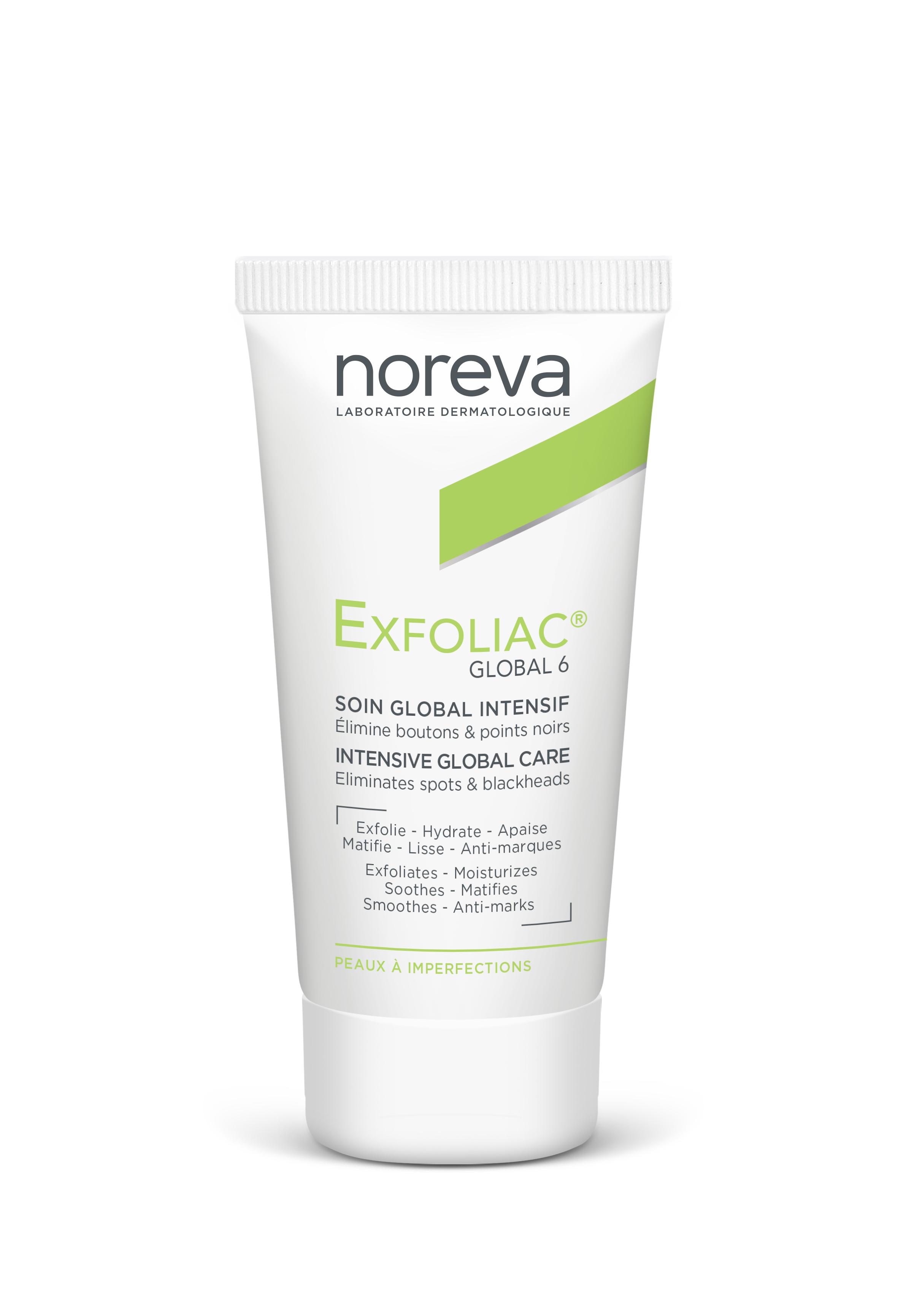 Купить Средство для проблемной кожи Noreva Exfoliac Global 6 30 мл