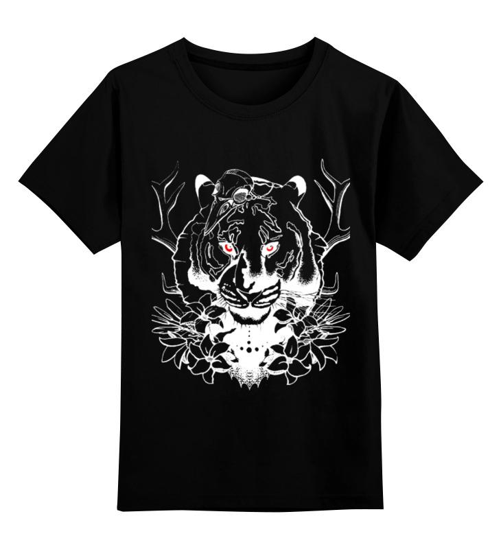 Детская футболка Printio Тигриный взгляд цв.черный р.116 0000000793801 по цене 990