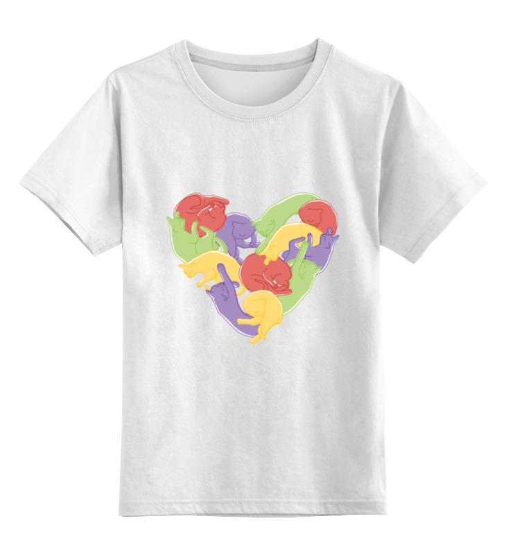 Детская футболка Printio Кошкоспальня цв.белый р.116 0000000788155 по цене 790