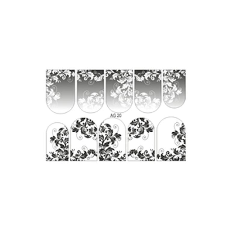Freedecor Слайдер дизайн «Аэрография» №20 черный