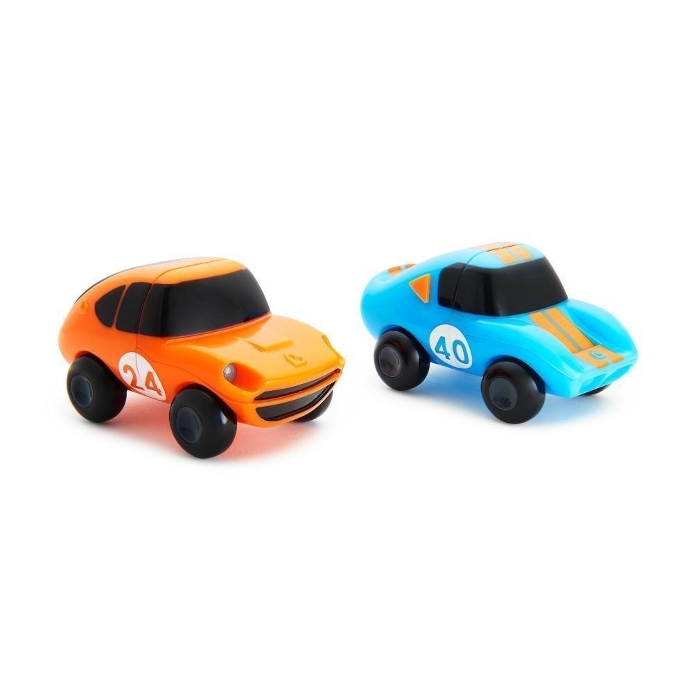 Купить Игрушка для ванны Munchkin машинки голубая-оранжевая magnet motors, 2 шт.,