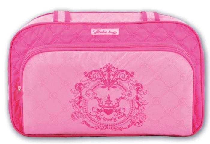Купить Сумка детская Феникс+ для девочек Розовый узор,