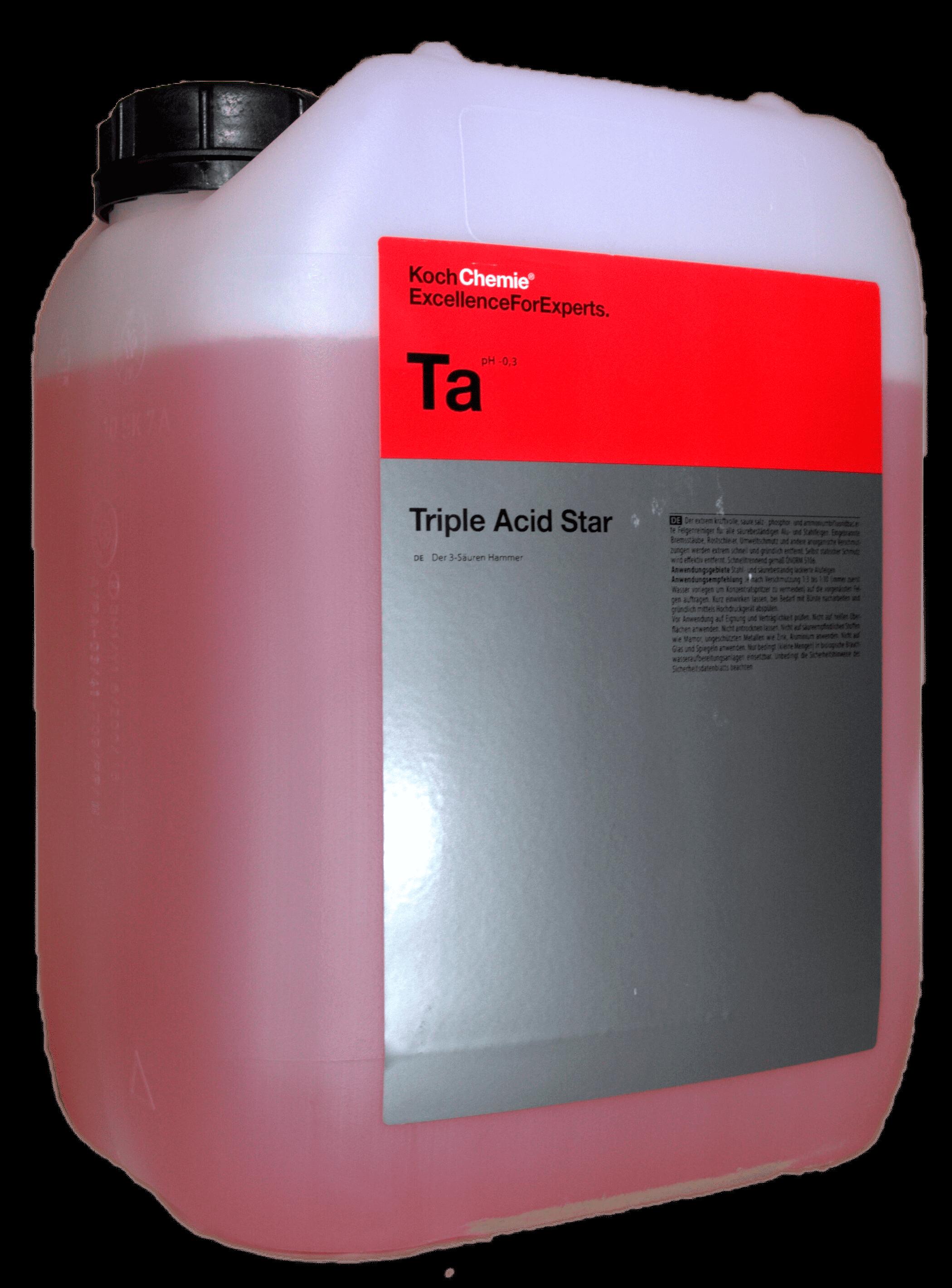 Очиститель колёсных дисков Koch Chemie TRIPLE ACID