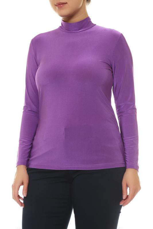 Водолазка женская ARTESSA VD01307PUR57 фиолетовая 48 RU/50 RU