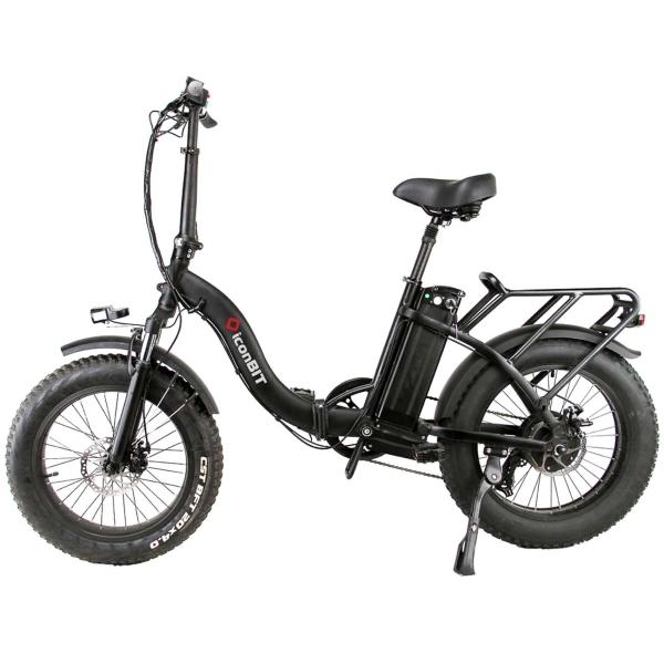 Электровелосипед iconBIT E-Bike K220 2019 One Size black