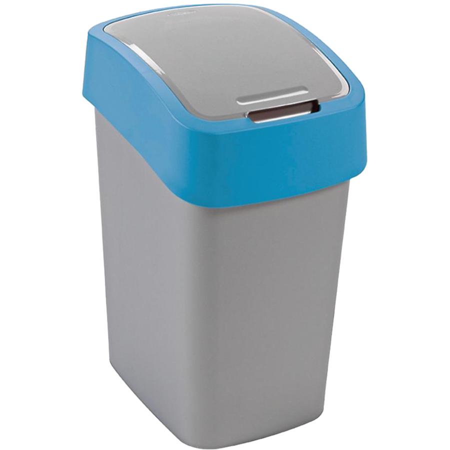 Контейнер для мусора FLIP BIN 25л голубой