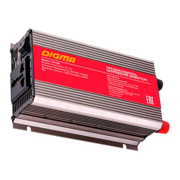 Автоинвертор DIGMA DCI 500 500Вт