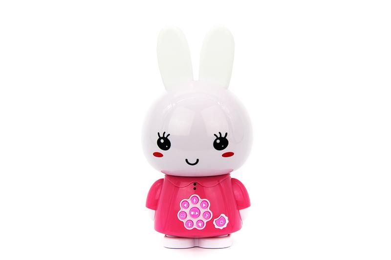 Музыкальная игрушка Alilo Медовый зайка G6+ розовый