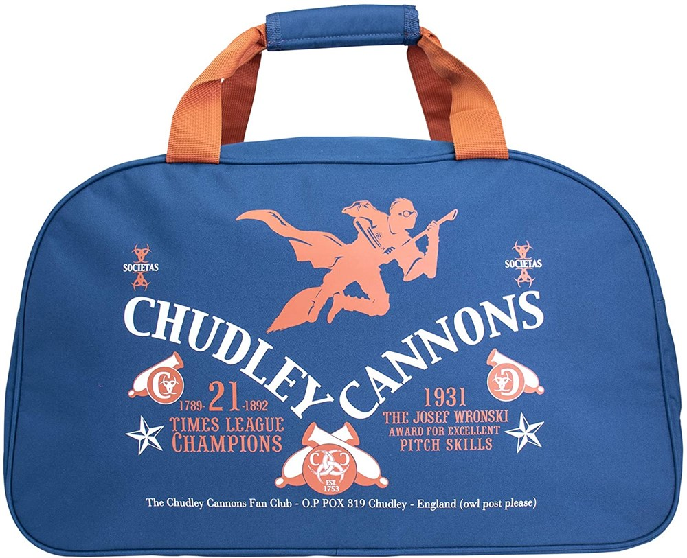 Спортивная сумка Blue Sky Studios Harry Potter Kit Bag Chudley Cannons голубая