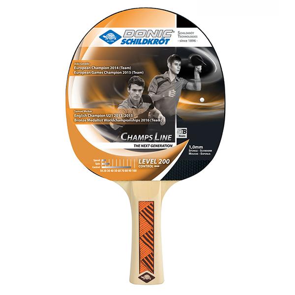 Ракетка для настольного тенниса DONIC/Schildkrot Champs Line 200 фото