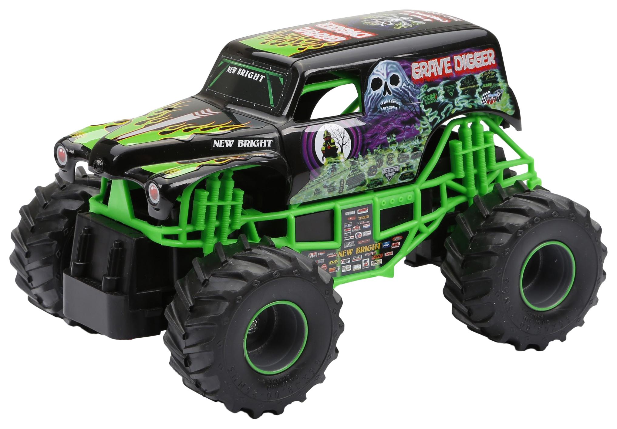 Купить Машина радиоуправляемая New Bright 1:24 Monster Jam,