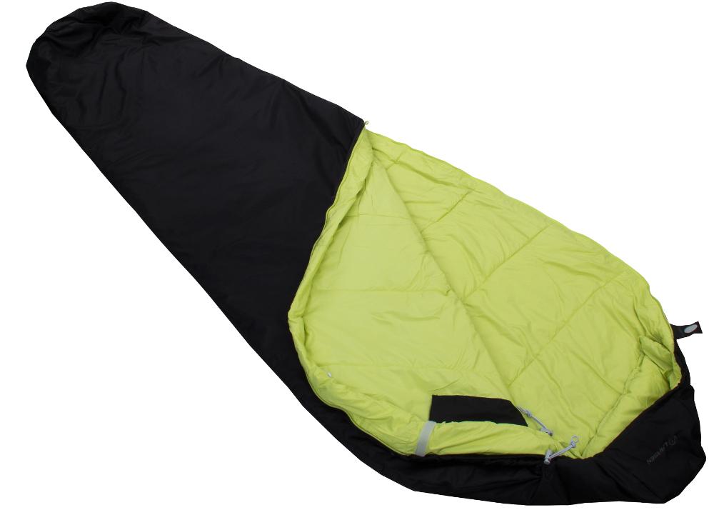 Спальный мешок Larsen Ultralight 1000 черный, правый