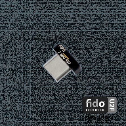 Ключ безопасности YubiKey C Nano FIPS