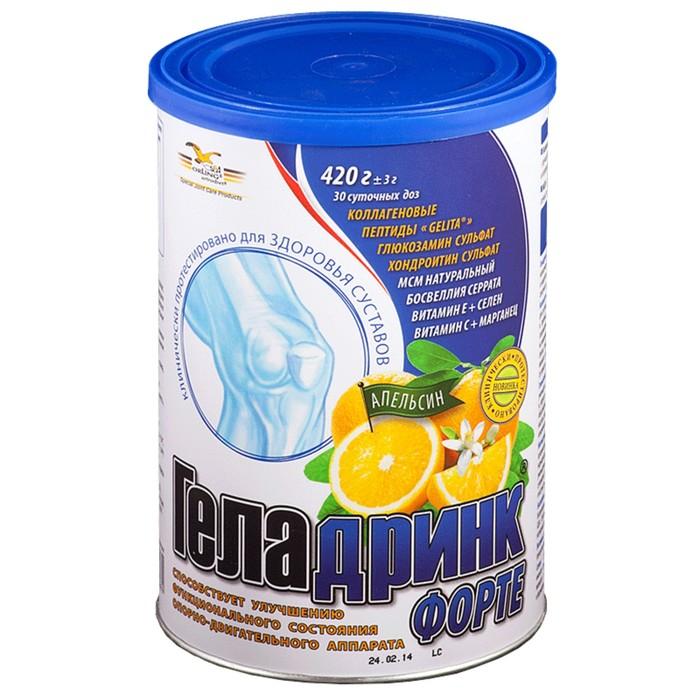 Купить Геладринк Форте апельсин, Геладринк Форте порошок 420 г апельсин, Orling