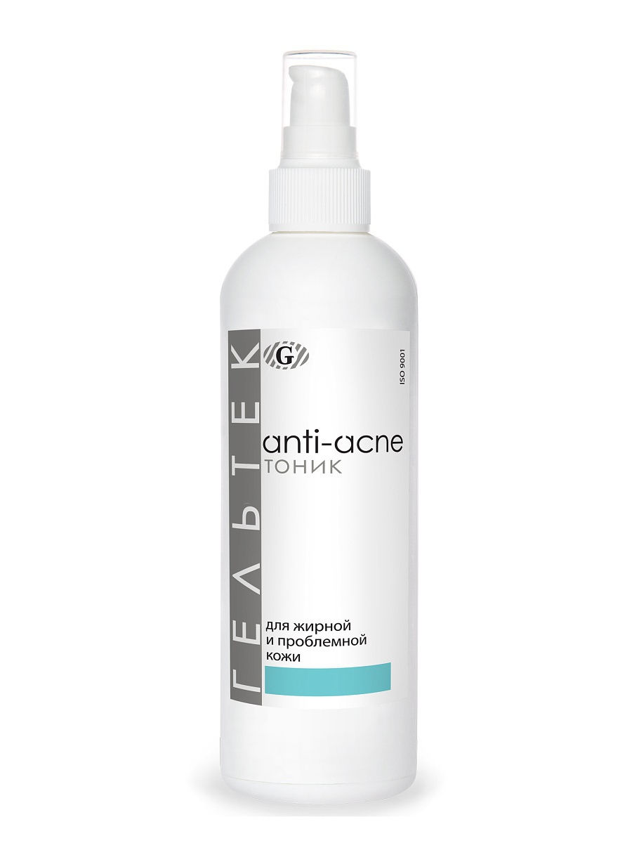Купить Тоник для лица ГЕЛЬТЕК Anti-acne для жирной и проблемной кожи 300 г, Гельтек