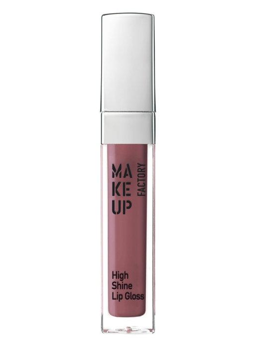 Купить Блеск для губ MAKE UP FACTORY High Shine Lip Gloss 56 древесный розовый 6, 5 мл