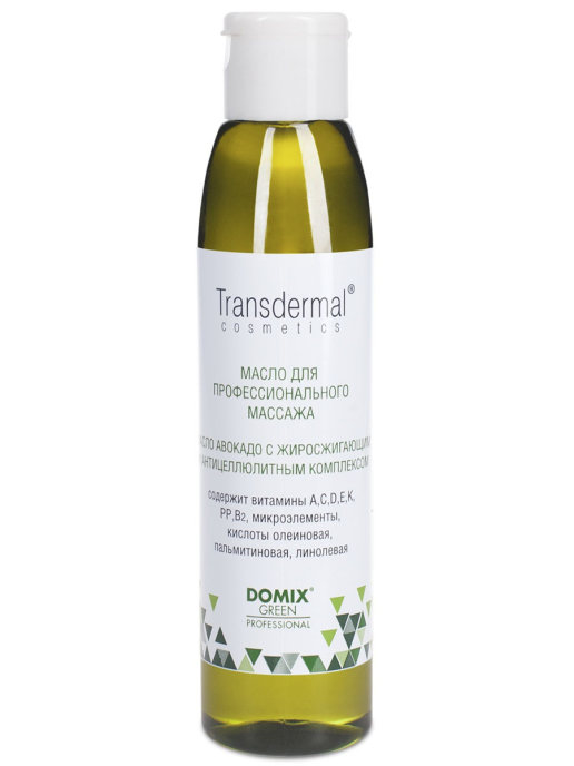 Масло для тела DOMIX Transdermal Cosmetics авокадо
