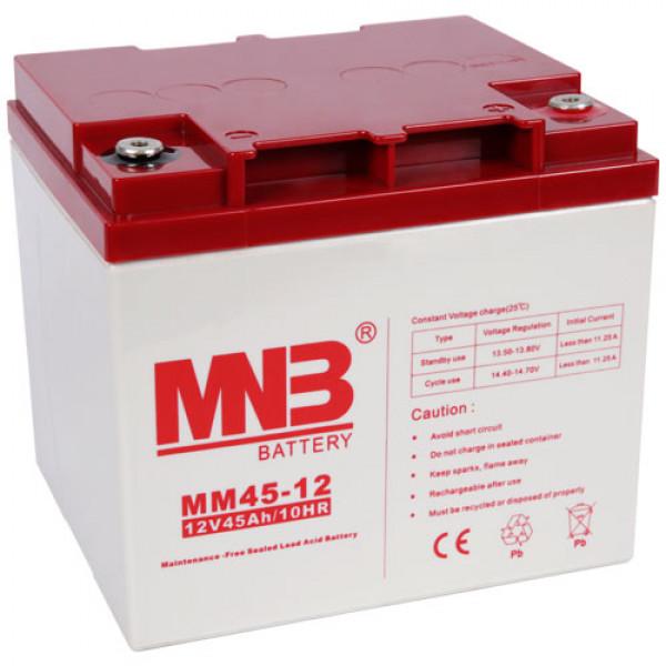 Аккумулятор для ИБП MNB MM 45 12